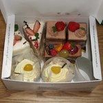 パティスリーヤナギムラ - 4種類のケーキです。