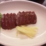 焼肉 金太郎 - レバ刺し