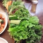 焼肉 金太郎 - 野菜食べ放題500円です!