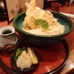 11320635 - 天ぷらおろしぶっかけ温 細麺 大  2玉 930円