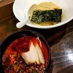 札幌 Fuji屋 - 辛化つけ麺ハーフ 750円