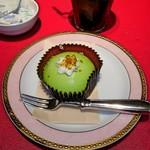 夢浪漫 - ピスタチオとベリーのケーキ