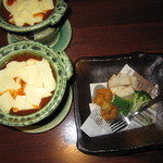 酒場 アカボシ - レディースコース「エビチリフォンデュの小鍋仕立て」