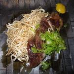 酒場 アカボシ - レディースコース「やっぱり肉だね!牛ステーキ」