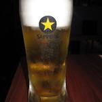 酒場 アカボシ - 飲み放題「サッポロ生ビール黒ラベル」