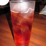 酒場 アカボシ - 飲み放題「カシスソーダ」