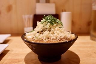 串揚げと泡酒 明日源 - たぬき豆腐