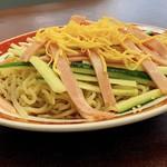 喜楽 - 料理写真:冷やし中華 ¥790