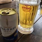 パーラーわかば - ノンアルコールビール200円