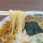 食堂 多万里 - 細麺