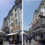 DES ALPES - ランチ。Hotel Des Alpes。カペル橋(ルツェルン,スイス)食彩品館.jp撮影