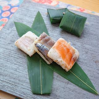 福井の郷土料理笹寿司