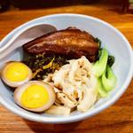 台湾料理 光春 - 焢肉飯  コンローファン