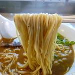 らのや - 麺UP(味噌ラーメン)