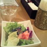 ムサコダイニング - ランチのサラダ