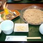 手打ち蕎麦 無垢 - 天ざる ¥1200