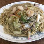 中華新楽 - 料理写真:皿うどん600円