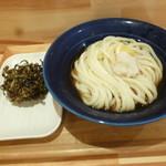 113225983 - こんぶの天ぷら&ぶっかけうどん