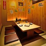 のぶちゃん - 【3F】ゆったり寛げる掘りごたつの半個室です。