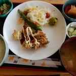 青林檎 - 鶏肉の磯辺巻き揚げ