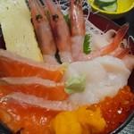 玄海寿司 - 北海丼
