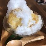ぱーらー願寿屋 - 料理写真:シークァーサーのかき氷