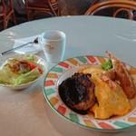 Cafe Rest BON - 料理写真:よくばりセット