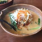 麺場 田所商店 - 信州味噌タンタン麺