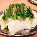 野菜盛り(ニラ・キャベツ)