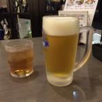 そば茶屋文六 - これでも小ビールらしい・・