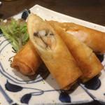 黒松家餃子 - 海鮮春巻き