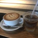 シアターコーヒー - シアターラテ & エスプレッソトニック