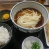 うどん処 重己 - 料理写真: ぶっかけうどんセット
