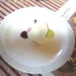 グランデ・レガロ - デザートのパンナコッタ