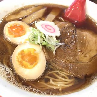 麺屋 から草 - 料理写真:から草ラーメン(中盛)