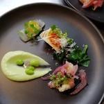 Chez 田坂(シェ・田坂) - カジュアルコース前菜