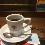 梟書茶房 - ホットコーヒー