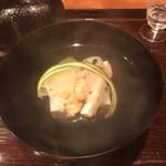 御料理 古川 - 松茸と湯葉の吸い物!