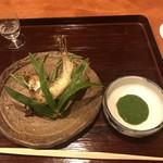 御料理 古川 - 鮎をたてずで!