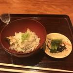 御料理 古川 - 鱧の炊き込みご飯!