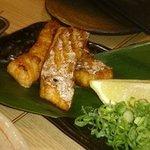 串と煮込みの元祖居酒屋 個室 門限やぶり - 鮭ハラス焼き