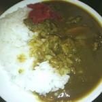 レストラン サンピア - バイキング料理 (牛筋カレー)