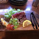 肉ろばた 肉の寿司 carne 梅田店 -