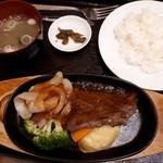 113266240 - 寿楽厳選サーロインステーキ定食