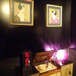 個室みちのく旅籠 ゆるり屋次郎 - その他写真:レトロな店内