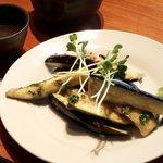 ダイニング むすたき - 茄子のシャキシャキサラダ ¥430