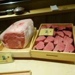 113271216 - 本日の素材の主役のお肉