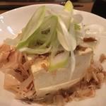 壱岐 - *壱岐豆腐。 単なる豆腐と思ったら大間違いの逸品! 『これがお豆腐???』と思うビックリする食感です。 1度食べたら病み付きになる感じ♫