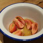博多串焼き 曇天ばってん晴天 - 196度の冷しフルーツトマト