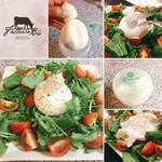 ファットリアビオ北海道 - オススメの食べ方は、 シンプルにバジルなどの葉とフルーツトマトにチーズをのせて、塩胡椒とエクストラバージンオイルのみで!